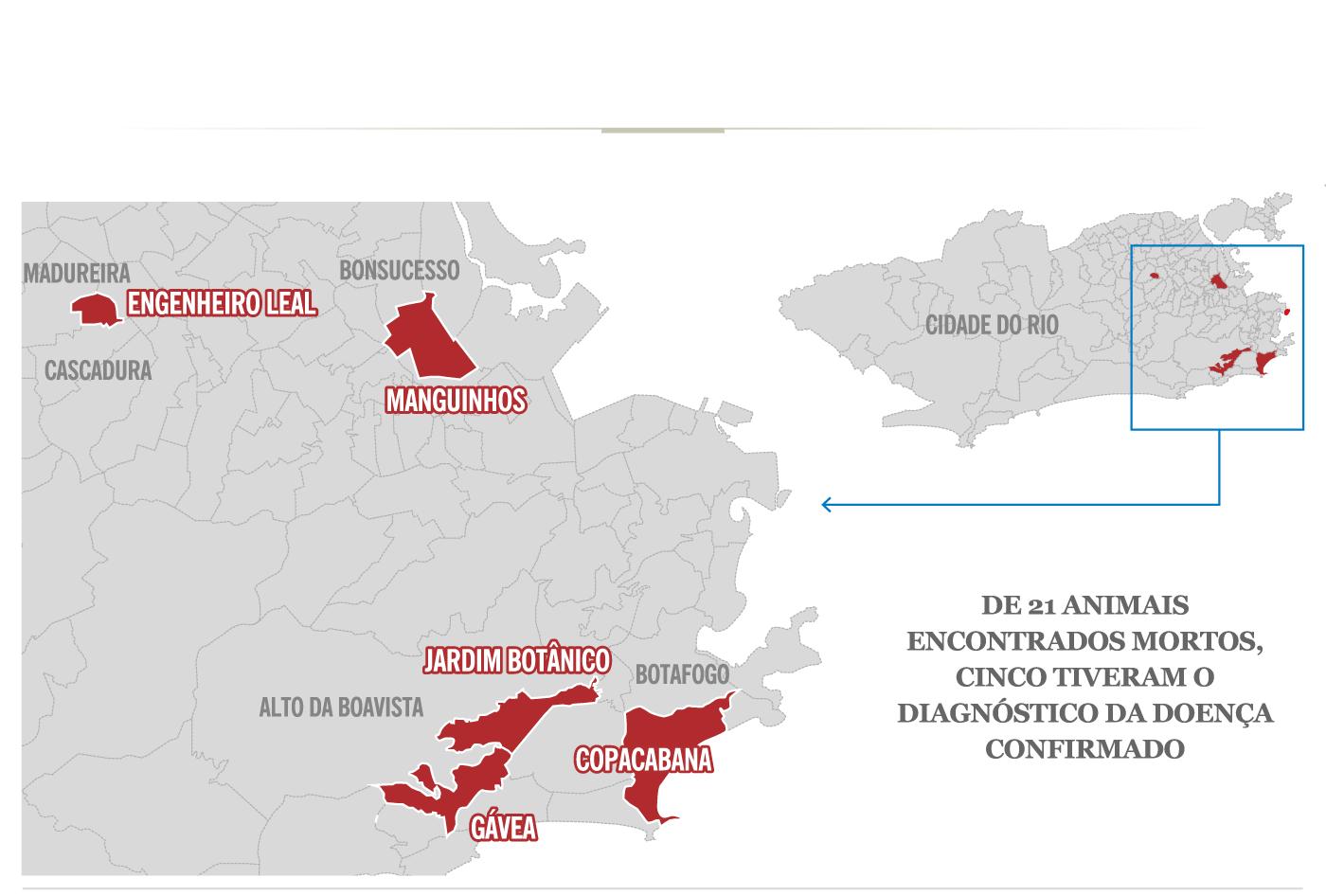 Brasil confirma 424 casos de febre amarela com 137 mortes